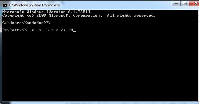 Cara Menghilangkan Virus Shortcut Di Komputer Dan Flashdisk