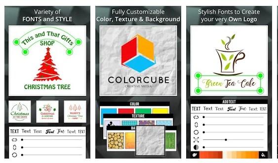 Aplikasi logo maker android