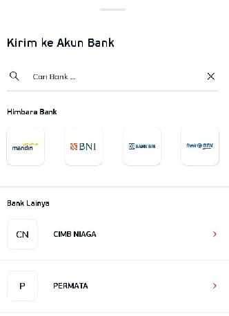Cara Transfer Uang Dari LinkAja Ke Bank Lain