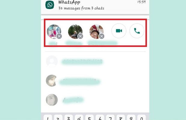 Cara Video Call Di Whatsap 6 orang