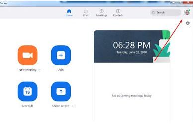 Mengganti Foto Profil Zoom Meeting